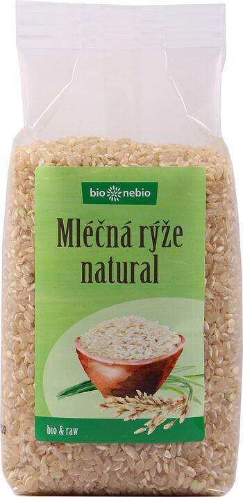 Bio rýže mléčná natural bio*nebio 500 g