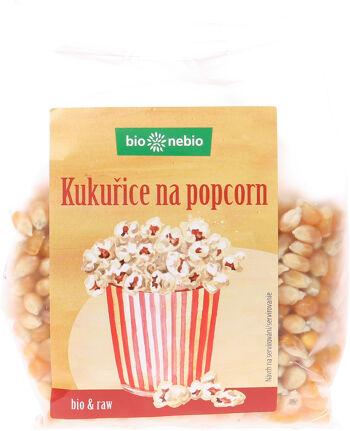 Bio kukuřice na popcorn bio*nebio 250 g
