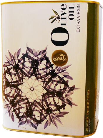 Bio extra panenský olivový olej ECOATO 3 l