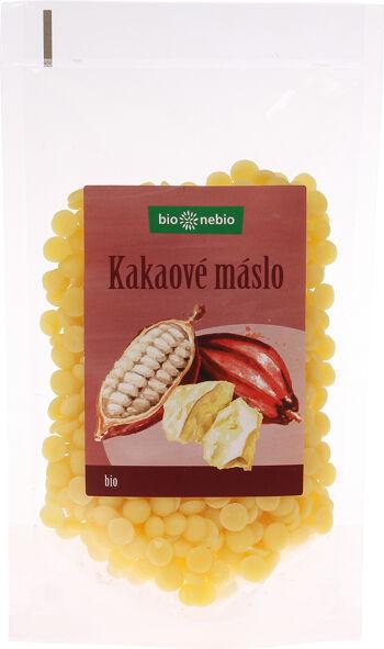 Bio kakaové máslo pecičky bio*nebio 100 g