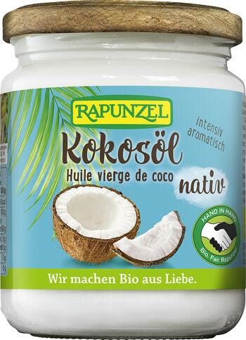 Bio kokosový olej lisovaný za studena RAPUNZEL 200 g