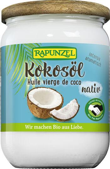 Bio kokosový olej lisovaný za studena RAPUNZEL 400 g