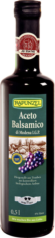 Bio balsamikový ocet RUSTICO RAPUNZEL 500 ml